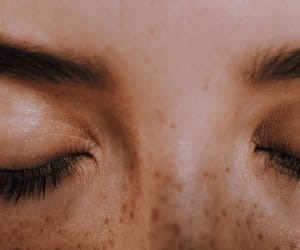 aesthetic, eyes, and freckles image