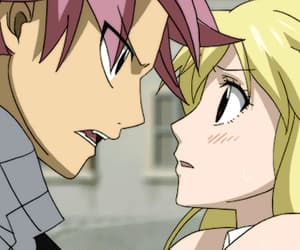 gif, natsu x lucy, and fairy tail image