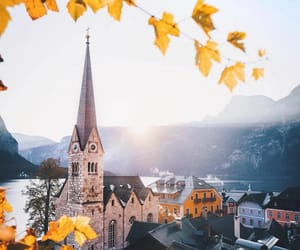 autumn, austria, and europe image