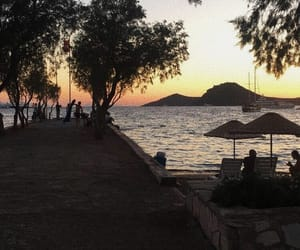 sea, bodrum, and summer image