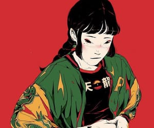 anime, dark, and dope image