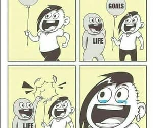 goals, life, and funny image