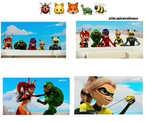 bee, chat, and heroes image