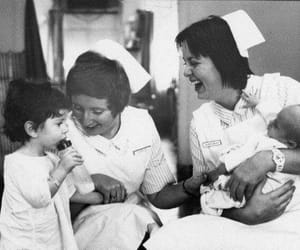 1970, nurse, and nursing image