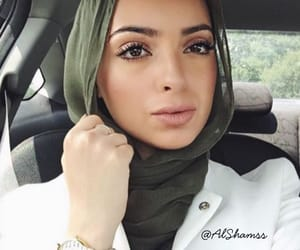 arabic, voilée, and hijab image
