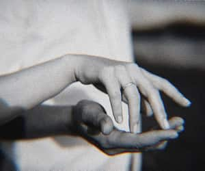 couple, hands, and theme image