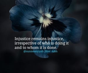 injustice, writings, and thoughts image