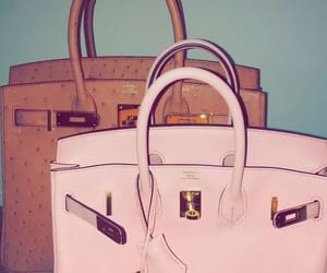 hermes, pink, and luxury image