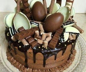 cake, kinder, and chocollate image