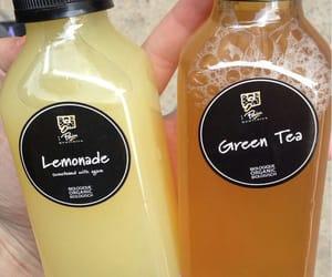 lemonade, drink, and green tea image