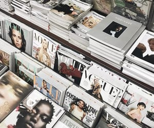 magazine, vogue, and books image