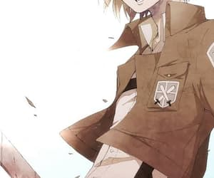 armin, attack on titan, and aot image