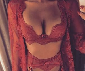 lingerie, red, and body image