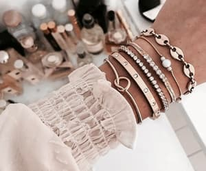 bracelet, aesthetic, and fashion image