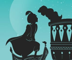 disney, aladdin, and princess image