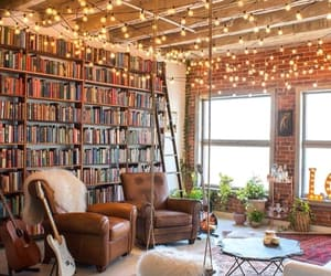 book, home, and lights image
