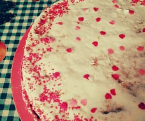 cake, candy, and corazones image