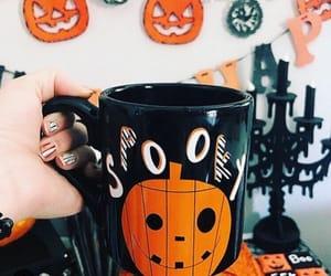 Halloween, autumn, and decor image