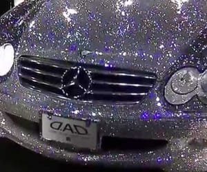 car, glitter, and aesthetic image
