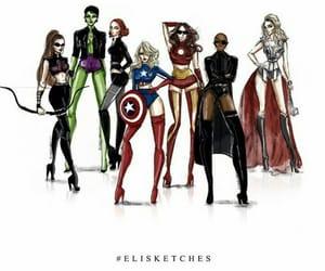 art, 2015, and Avengers image