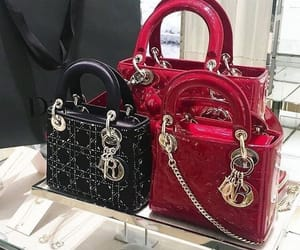 luxury, bag, and dior image