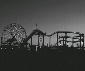 night, black and white, and black image