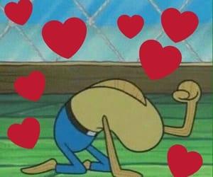 meme, spongebob, and love image