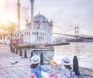 girl, istanbul, and friends image