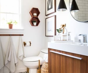 house, interior design, and bathroom decor image