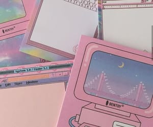 aesthetic, stationary, and tumblr image