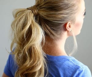 blonde, hair, and capelli image