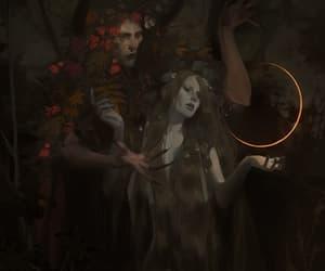 art, dark fantasy, and artists on tumblr image