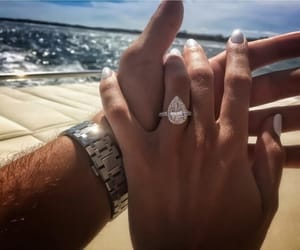 couple, cute, and ring image