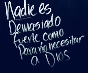 god, frases, and español image