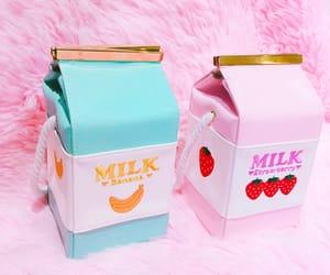 milk, bag, and banana image