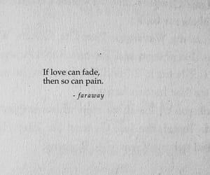 quotes, fade, and pain image