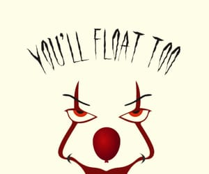 horror, it, and movie image