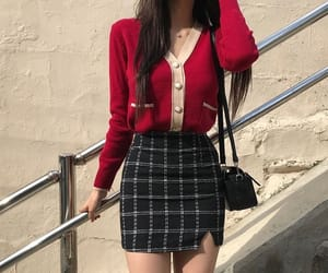 fashion, outfit, and kfashion image