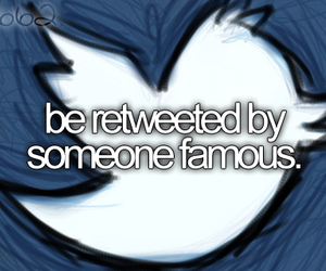 twitter, bucket list, and famous image