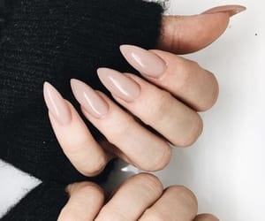 nails, beige, and girl image