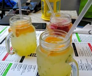 fresh, mason jar, and fruity image