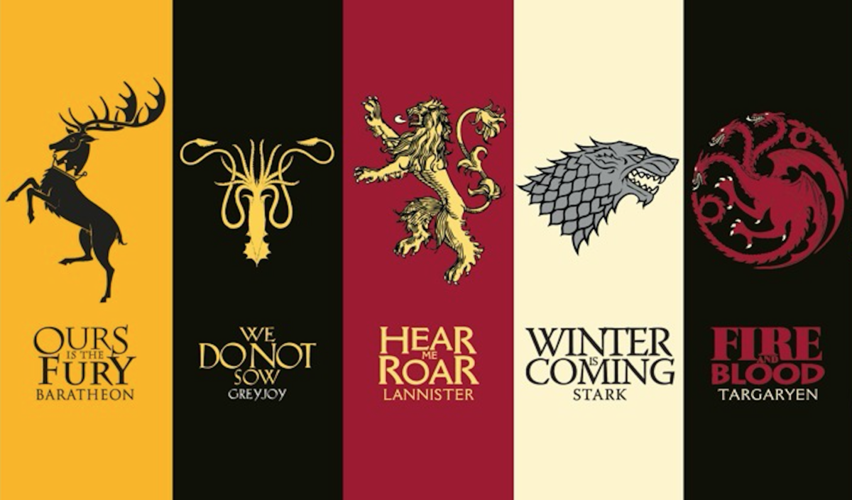 zodiac signs as games of thrones houses on we heart it. Black Bedroom Furniture Sets. Home Design Ideas