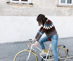 bike, clothes, and denim image