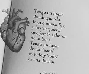 love, frases, and corazón image