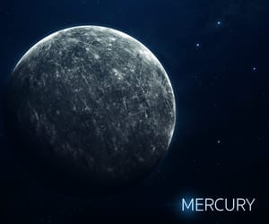 mercury, planet, and solar system image