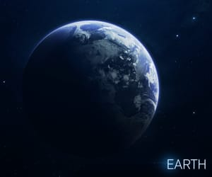 earth, planet, and solar system image