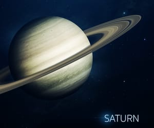 planet, saturn, and solar system image