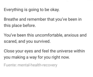 anxiety, selflove, and tumblr image