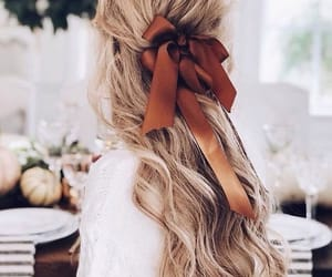 hair, hairstyle, and autumn image