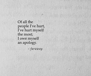 hurt, apology, and quotes image